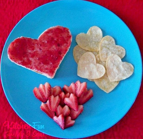 30+ Healthy Valentine's Day Food Ideas - Valentine's Love Lunch