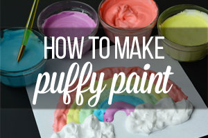 How To Make Puffy Paint This Was Such A Fun And Easy Craft For The