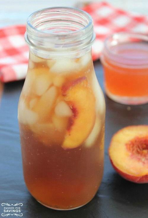 50+ Best Peach Recipes - Easy Peach Tea