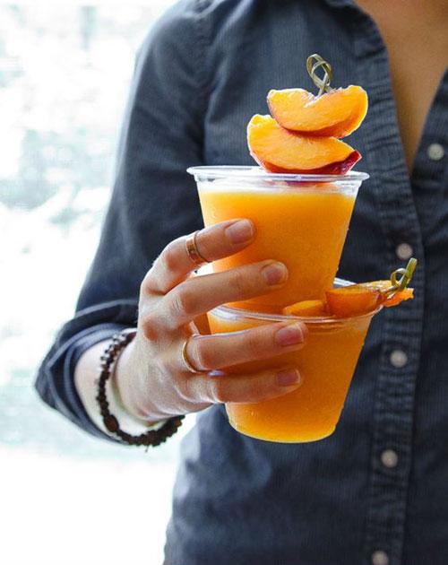 50+ Best Peach Recipes - Peach Wine Slushes