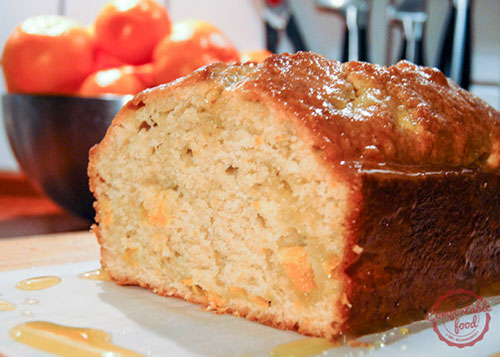 50+ Best Recipes for Fresh Clementines - Clementine Vanilla Quick Bread
