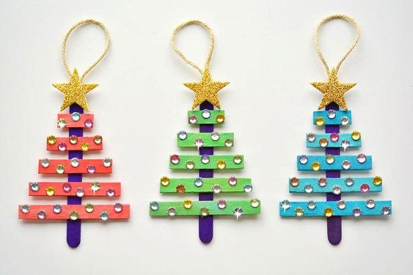 christmas ornaments popsicle sticks # 4