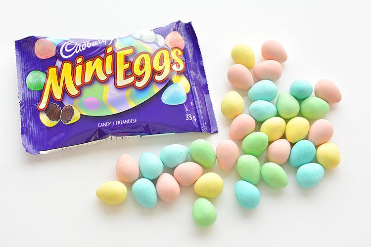 Image result for cadbury mini eggs