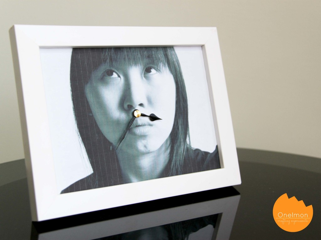 DIY: Photo Frame Clock | onelmon