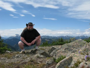 Me and the north cascades.