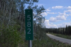 Kilometer Post 582, for the scouts back home.