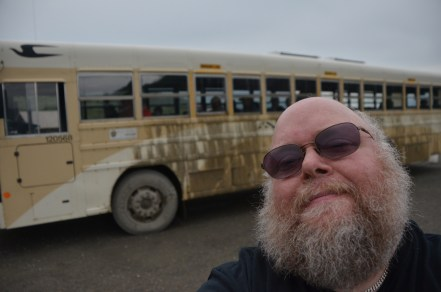 Muddy Bus and me