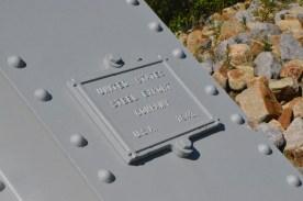 Dedication Plaque from original bridge