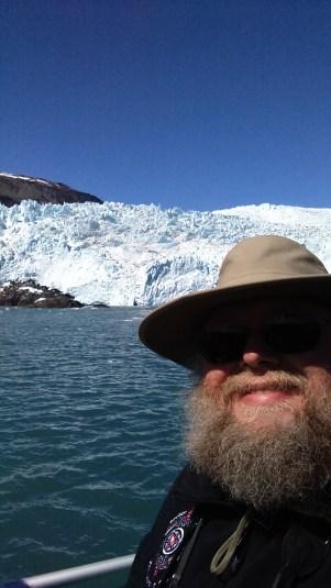 Selfie w/Glacier