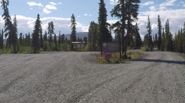 Arriving at Kendesnii Campground