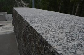 Lots of nicely dressed granite