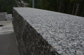 Lots of nicely dressed granite