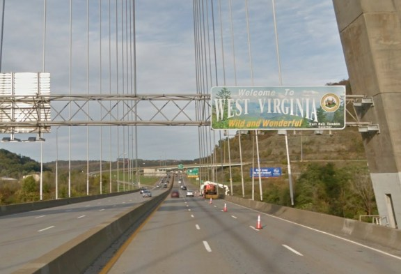 Crossing the Ohio River - Welcome to... West Virginia? What?