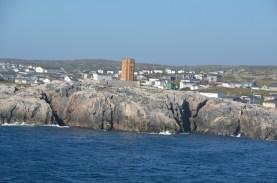 Lighthouse under repair
