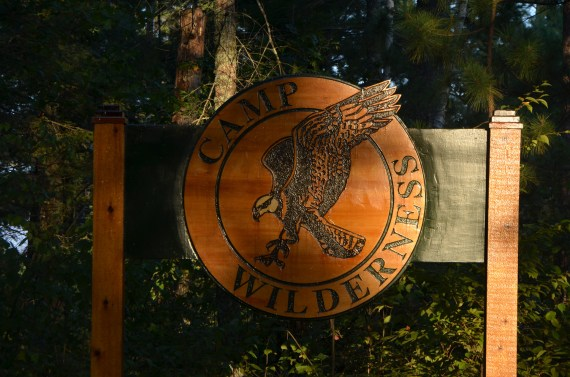 """Boy Scout Camp near where I stayed in Minnesota, """"Camp Wilderness"""""""