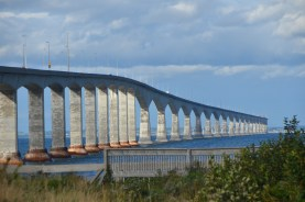 South end of the Confederation Bridge