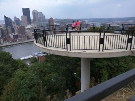 Along the walk there were several of these nice viewing platforms