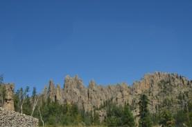Ridge of pinnacles