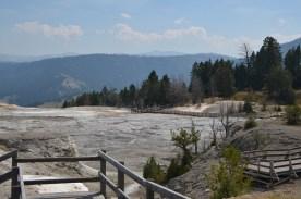 Upper Basin at Mammoth.