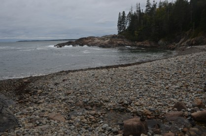 Rocky pocket beach