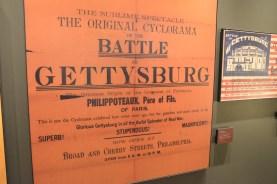 Original advertisement for the cyclorama