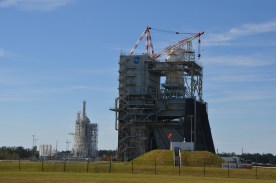 One of several engine test stands