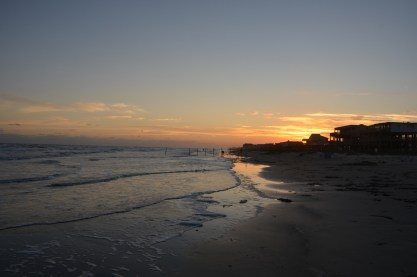 Sunset on the Gulf Coast