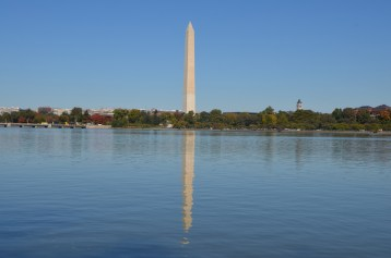 Washington monument was actually the tallest building on earth until the Eifel Tower.