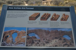 """Norht and South Window arches are in the same """"Fin""""."""