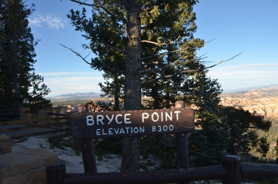 Bryce Point was my next stop