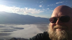 Dante's View, over a mile above Death Valley.