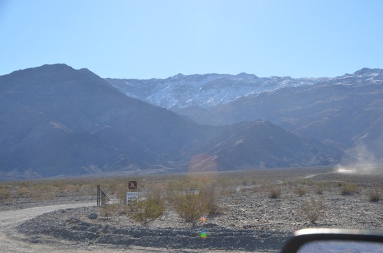 Note the snow on top of the ridge.