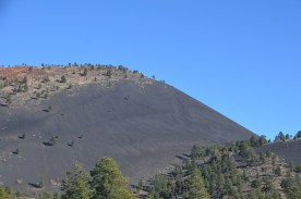 Cinder cone without the rig., there is a trail to climb this. If you haven't climbed a cinder cone I suggest doing so, pretty interesting stuff. I've climbed a few, so not this time.