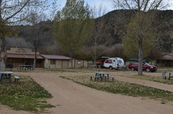 Bauer's Canyon Ranch RV Park - my base camp for Zion/Bryce, and through stop when I finished my red-rock loop around Utah