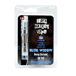 black market blue widow ape cartridge