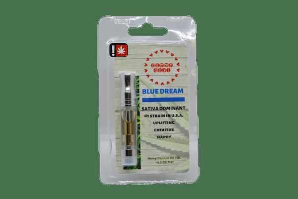 gummy girl blue dream vape cartridge