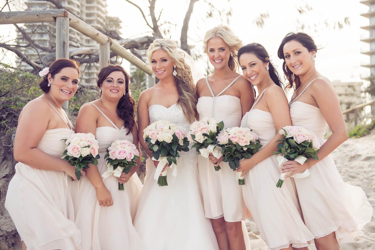 Wedding Flowers Flowers Bridesmaids Beach Wedding