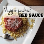 Veggie-packed red sauce