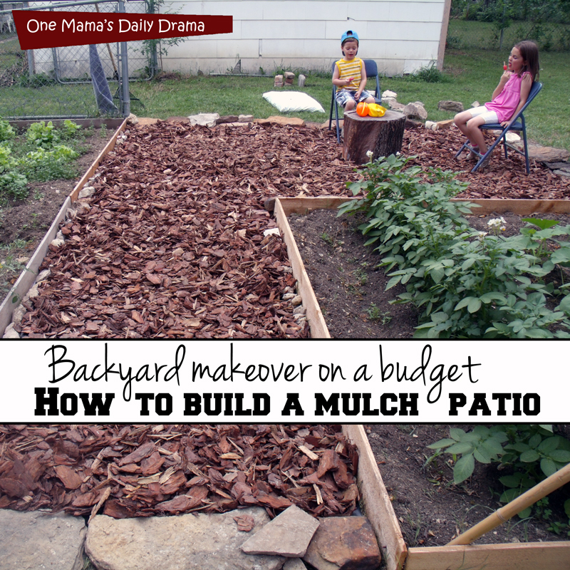 Backyard makeover on a budget - One Mama's Daily Drama on Backyard Patio Makeover id=90083