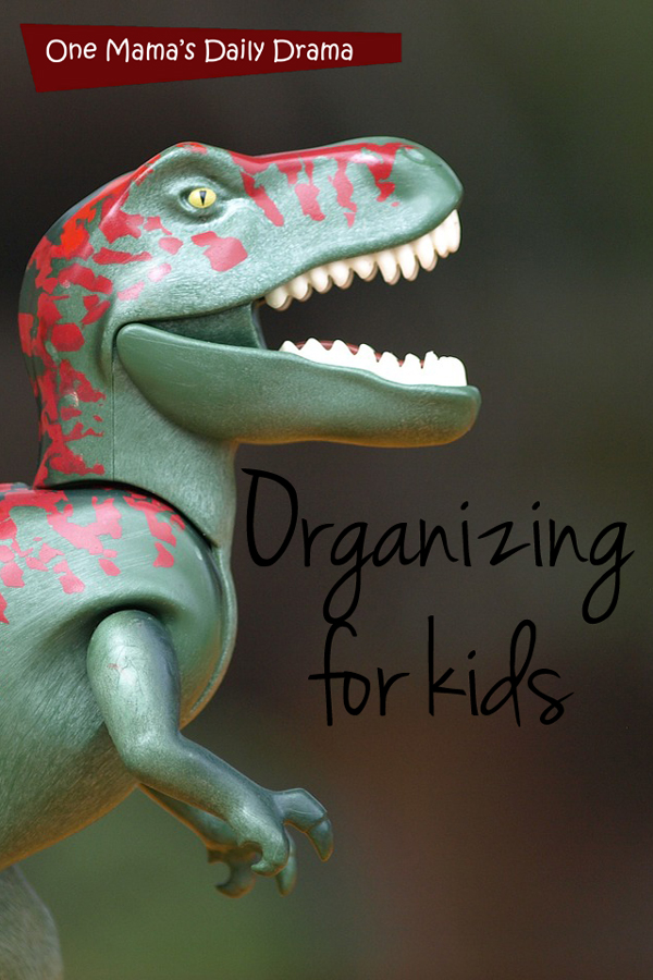 Organizing for kids: tips for cutting back on clutter and keeping it clean | One Mama's Daily Drama
