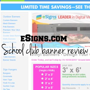 eSigns club banner review