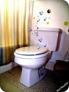Bathroom humor for mommies