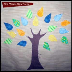 Tree pillow scrap buster DIY