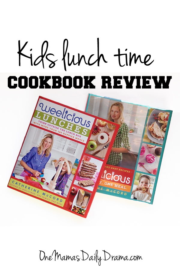 Kids lunch time cookbook review   One Mama's Daily Drama --- This cookbook is good for kids of a wide age range and isn't just for lunch.