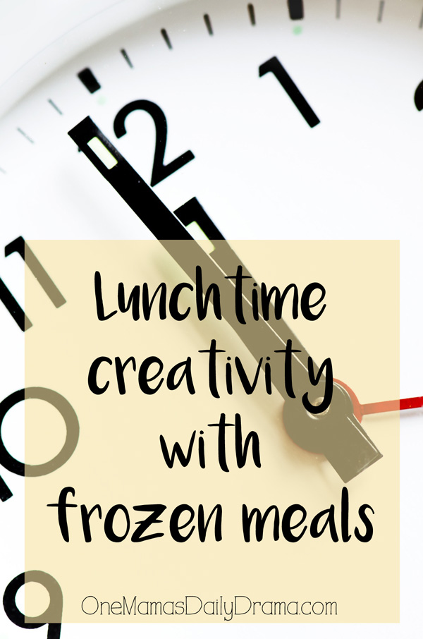 Lunch time creativity with frozen meals from Michelina's