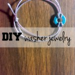 Washer jewelry DIY