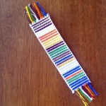 How to make a Doctor Who scarf bookmark