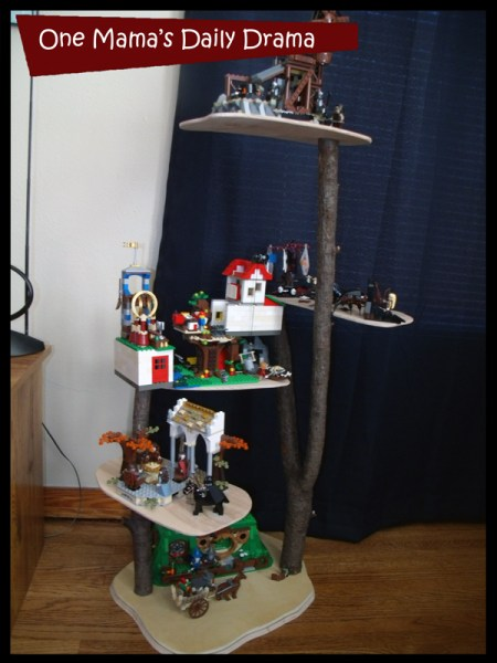 Lego display shelf
