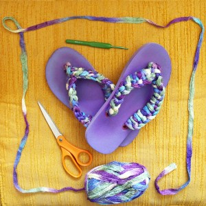Best crochet flip-flop DiY tutorial
