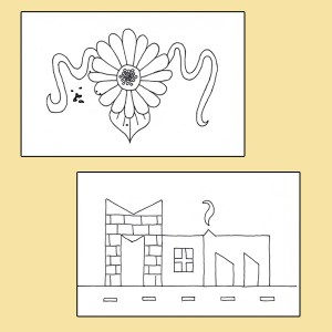 Printable Mother's Day coloring cards